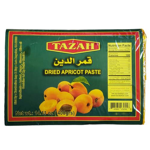 Tazah Dried Apricot Paste رقائق المشمش المجفف