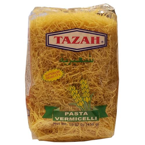 Tazah Pasta Vermicelli 15.87oz ( 450g ) شعيرية