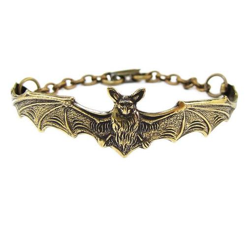 OT1 Gold Bat Bracelet