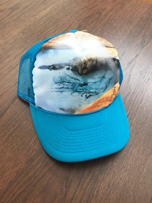 Blue Pool Trucker Hat