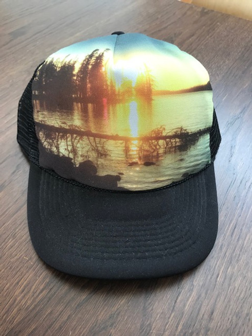 Amber Light Trucker Hat