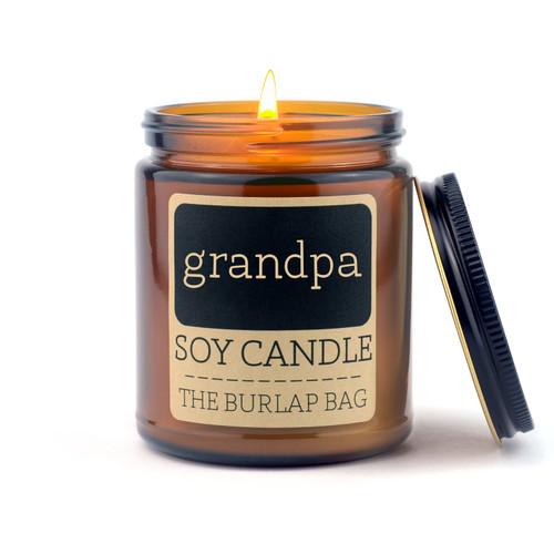 Grandpa 4oz Candle