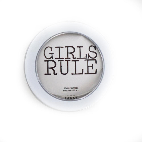 Girls Rule Bangle