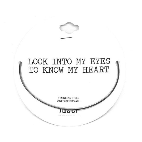 Look into my eyes to know my heart-Silver