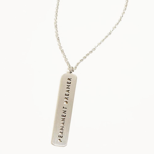 Permanent Dreamer-Necklace Silver