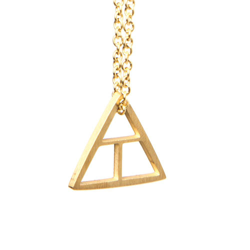 Create Triangle - Gold