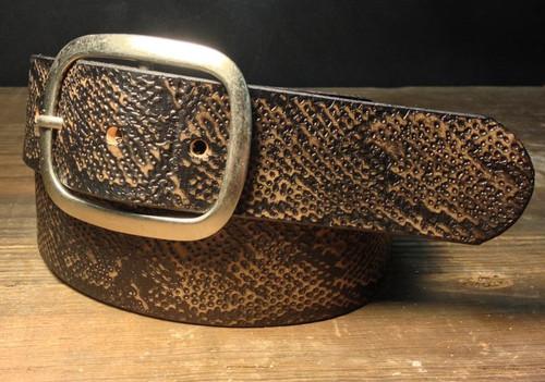 Snakeskin Belt EMBSS