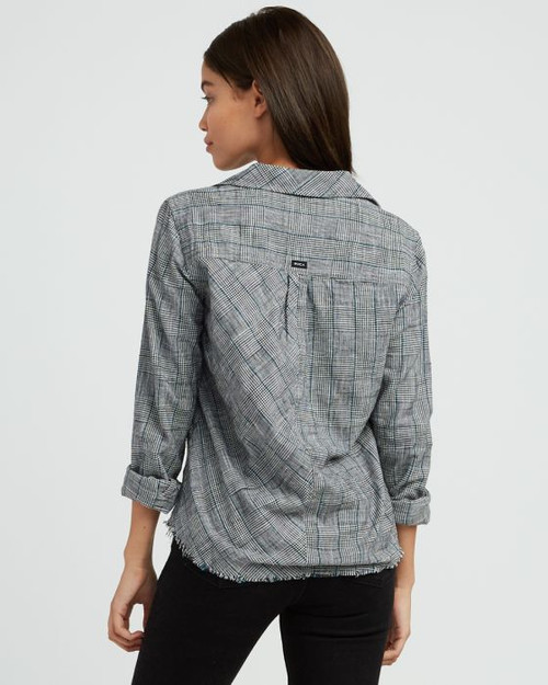 Answered Woven Flannel