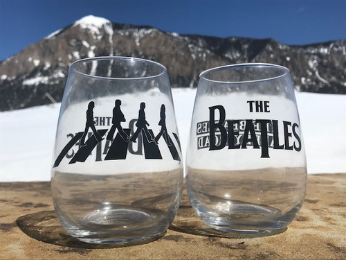 Beatles Abbey Road (2 set Tumblers)