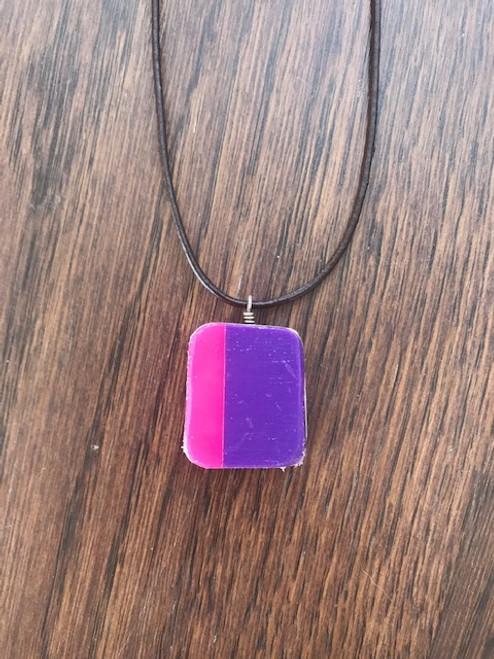 Paradise 3 Burton Snowboard - Purple/Pink one side; Turquoise/Pink back side