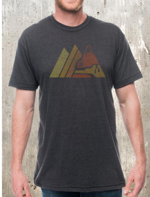 Retro Mountain Tee