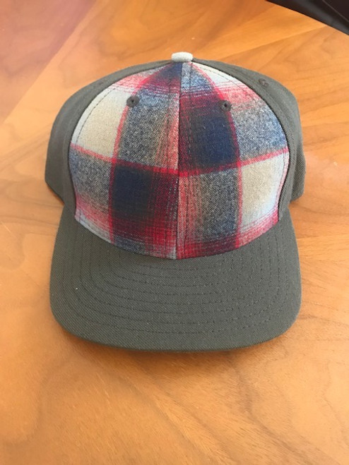 Eco Ball Cap - Plaid
