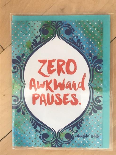 Zero Awkward Pauses
