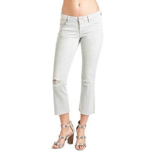 Candice Cropped Flair - Wild Dove