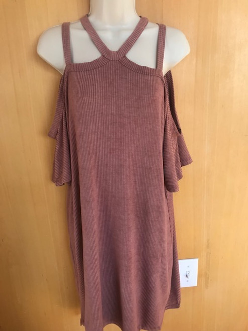 Kingston Dress - Mauve - size LARGE ONLY