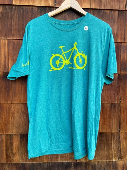 Shred Dirt - Size XL only - Teal/Sour Candy