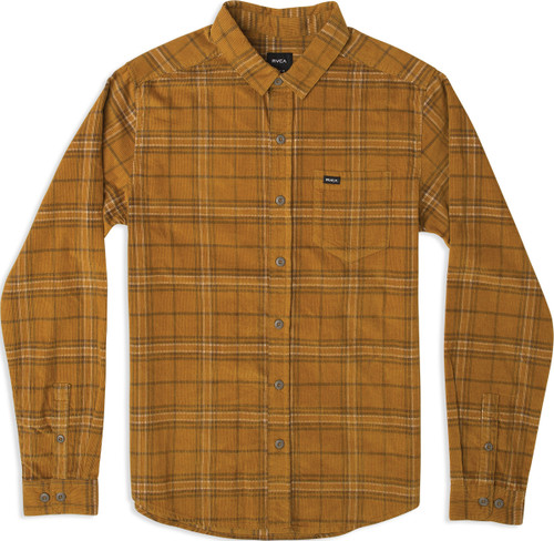 Phases Plaid Cord L/S