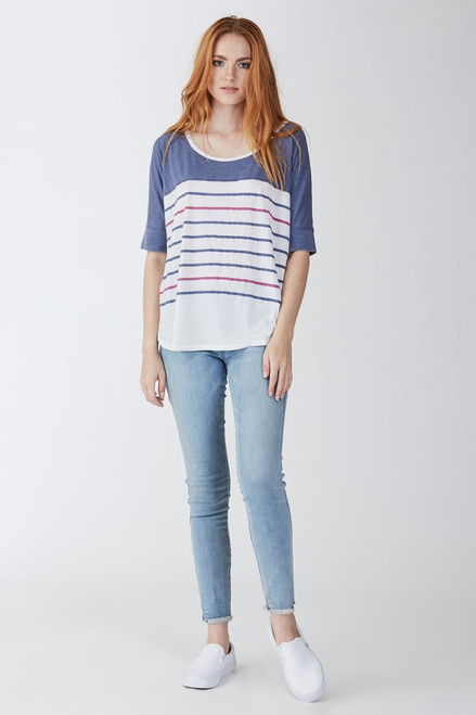 Stripe/Dark Denim