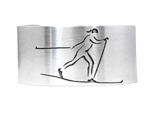 DL 18 Nordic Run Cuff - Matte Silver