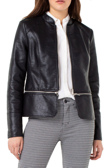 Zip-Off Moto Jacket