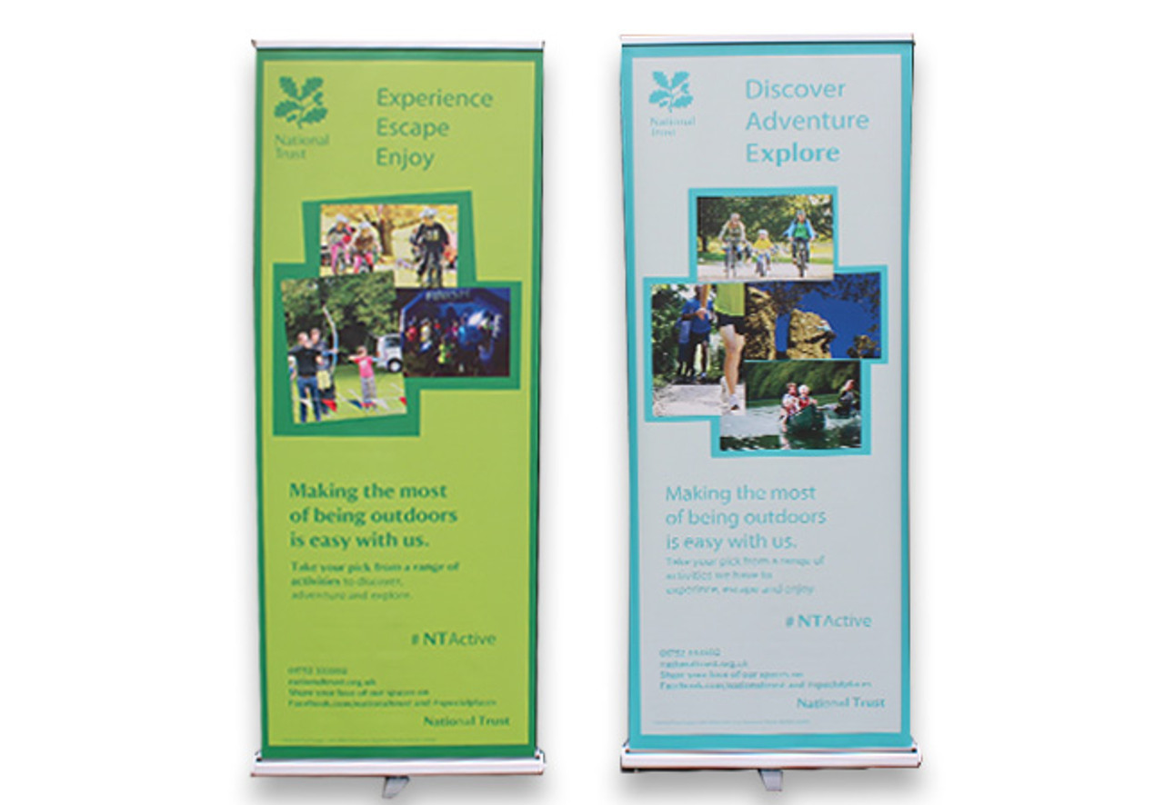 photo relating to Making a Printable Banner identified as Published Roller Banners