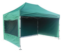 S50 3x4.5 commercial green heavy duty pop up gazebo