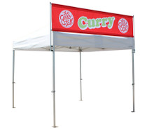 Pop Up Gazebo Sky Banner