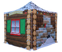 Santa's Grotto Pop Up Gazebo