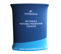Rectangle promotional Display counter