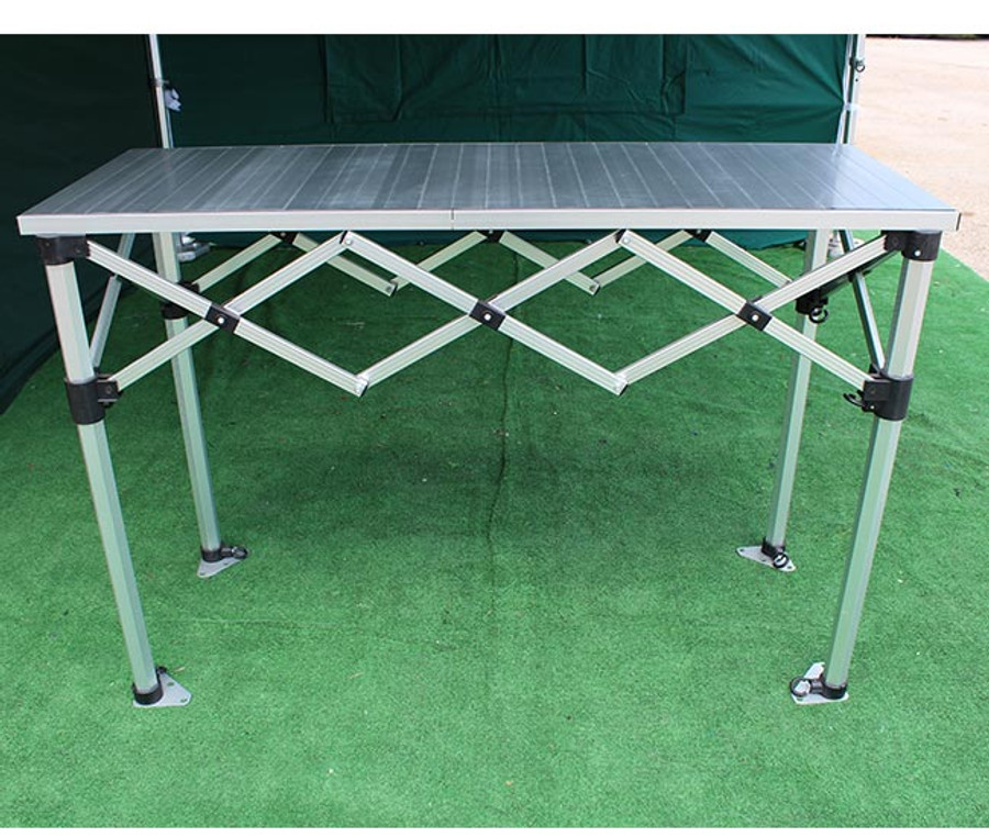 1.4m Folding Table Counter with aluminium tops
