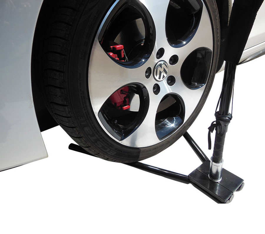 Car Wheel Flag Base