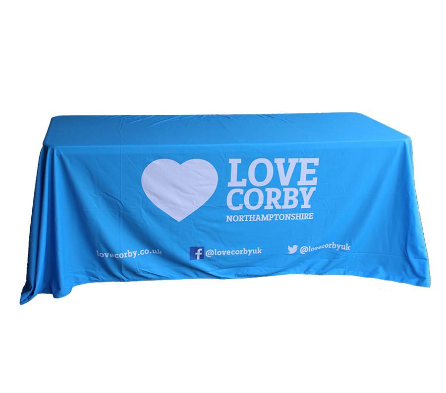 Custom printed tablecloth