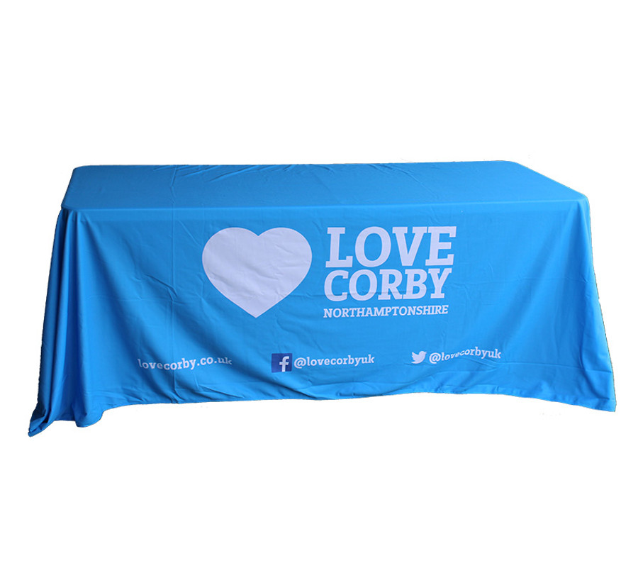 Custom printed tablecloth