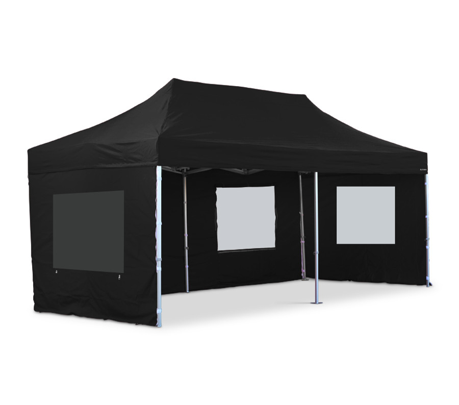 3m x 6m Black Sidewall Set (Clearance) - S30/S32/S40/Compact Models