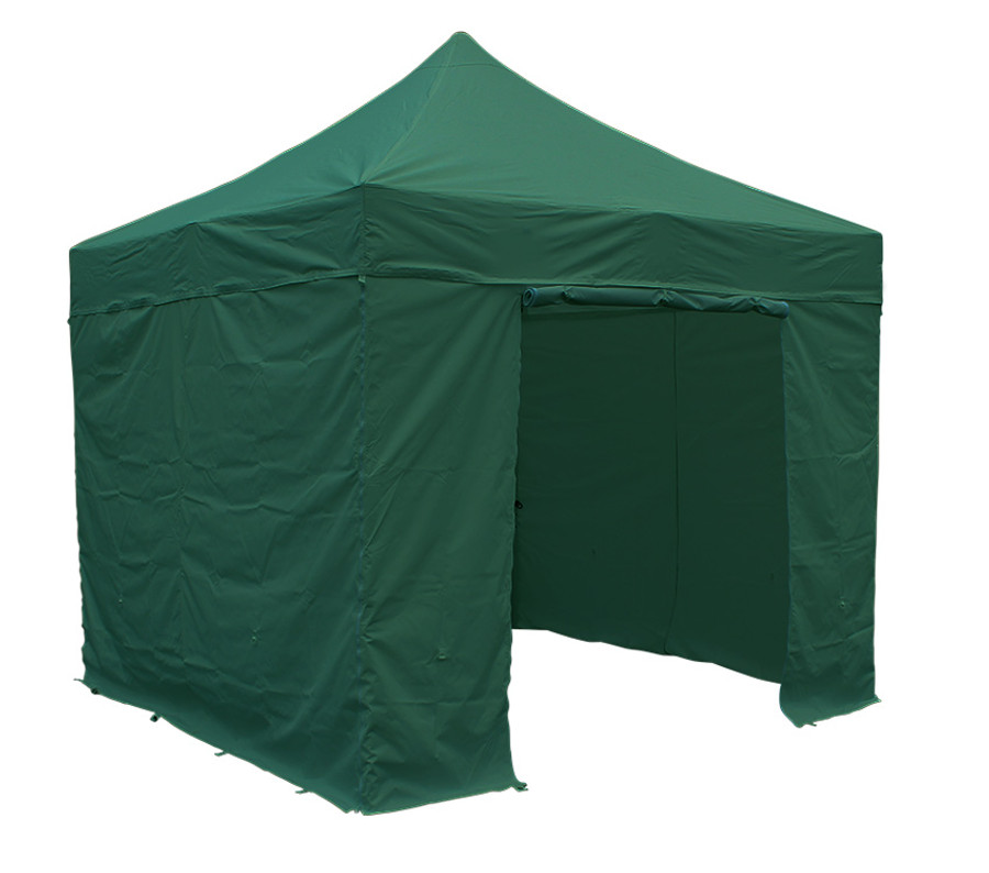 3m x 3m Green Sidewall Set (Clearance) - S30/S32/S40/Compact Models