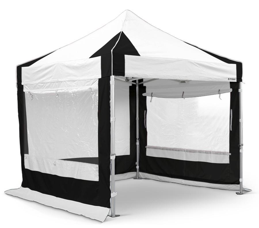 3m x 3m Black & White Sidewall Set (Clearance) - S50 Models