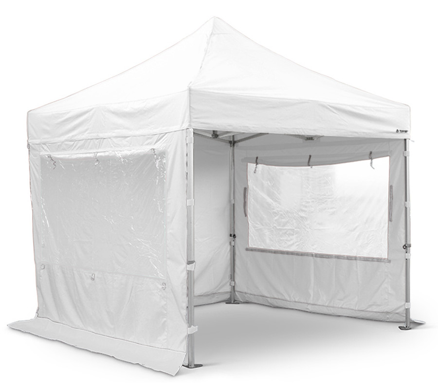 4m x 4m White Sidewall Set (Clearance) - S50 Models