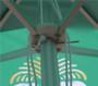 Parasol slider bracket