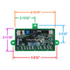 Dinosaur Elect. 3850415.01 Aftermarket Dometic Refrigerator Main Power Control Board