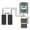 Deluxe Panther 12V Camper Van Off-Grid Solar Panel Package - 200 Watt