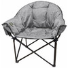 Kuma Outdoors KO846-HG Heated Cushioned Camping Chair - Heather Gray