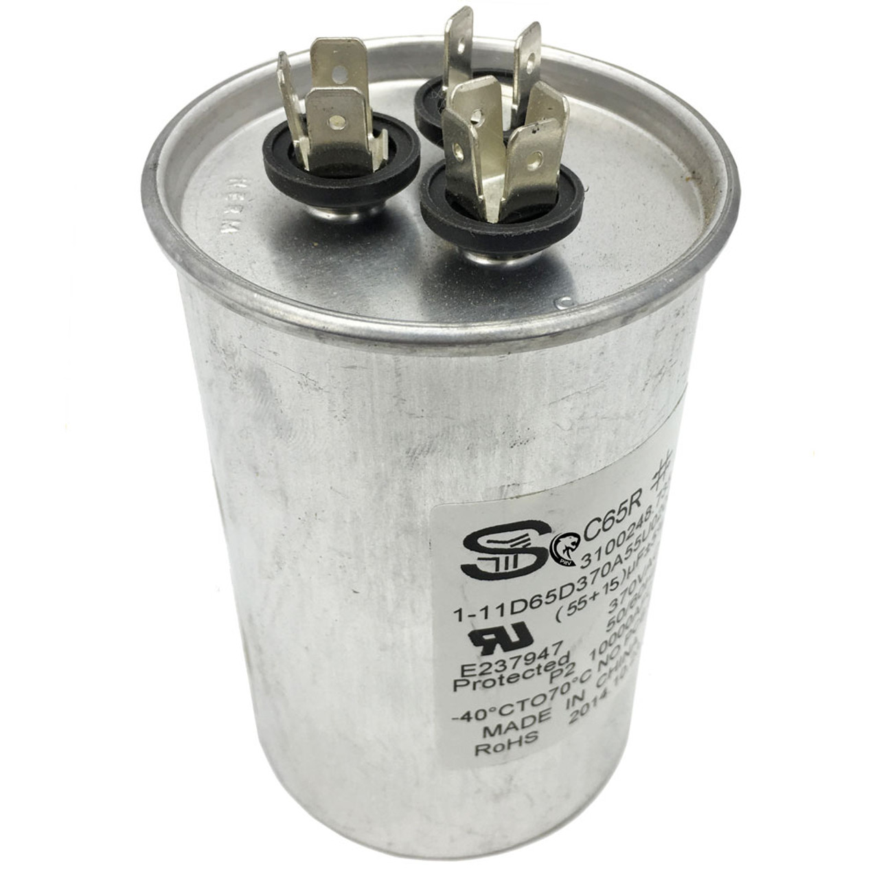 Dometic™ (Duo-Therm) 3314471 017 Air Conditioner Motor Capacitor 55/15 MFD