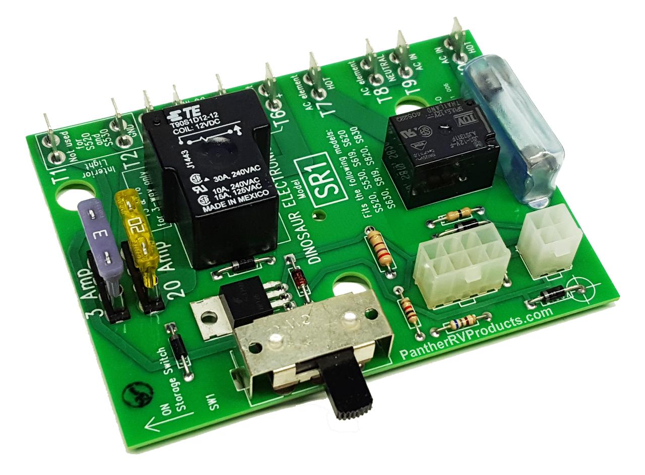 Dinosaur Elect Sr1 Replacement Dometicservel Refrigerator Board