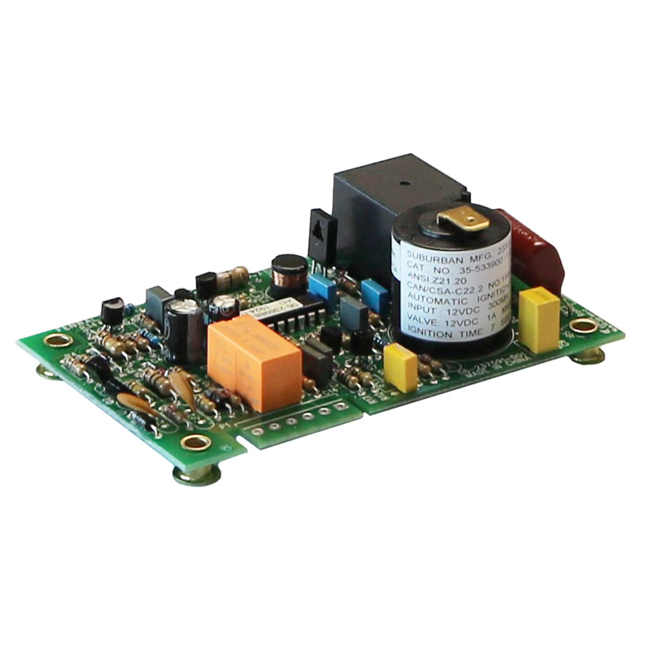 Exploranium GR526 Sensor Terminal Board  PCB 93094-99 Rev B