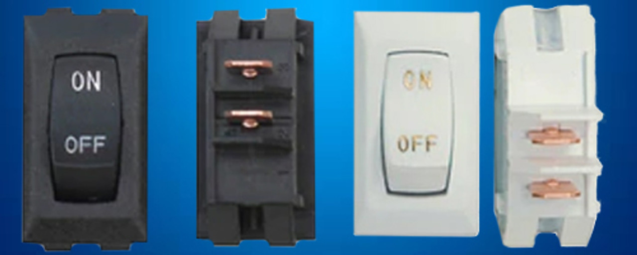 Labeled On / Off Switches