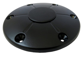 ITC TS5020-B Redwood Black Floor Base with Cap