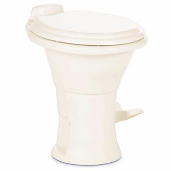 Dometic™ Sealand 310 RV Bathroom Toilet - Porcelain - Foot Flush - Bone