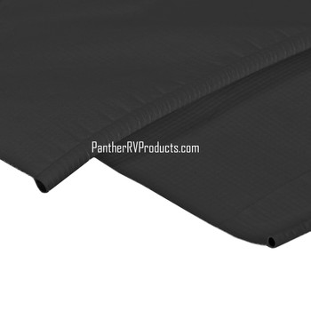 Dometic T3106802FJ Slide Topper Replacement Vinyl Fabric - Black