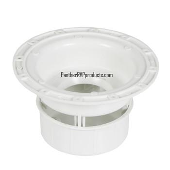 Ventline V2049-01 RV Plumbing Sewer Vent Cap - Polar White