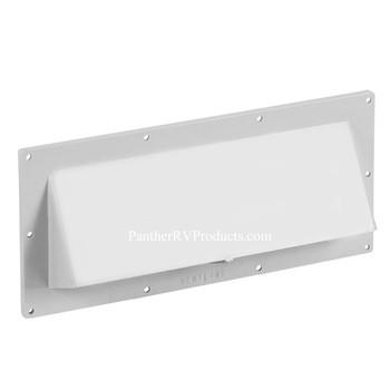 Ventline V2111-13 Exterior Wall Vent for RV Range Hood - Polar White